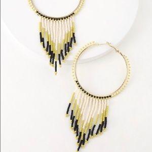 🔥🆕 Beaded Hoop Earrings